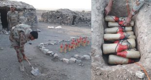 Terror bid foiled; 60kg heavy explosives recovered in Sabakzai area