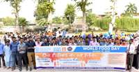 UoS organises seminar & awareness walk on World Food Day