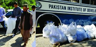 PIDE Cleans Shahdara under Clean Green Pakistan Campaign