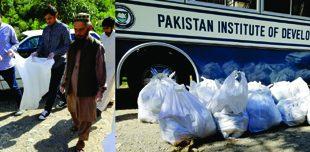 PIDE Cleans Shahdara under Clean Green Pakistan Campaign