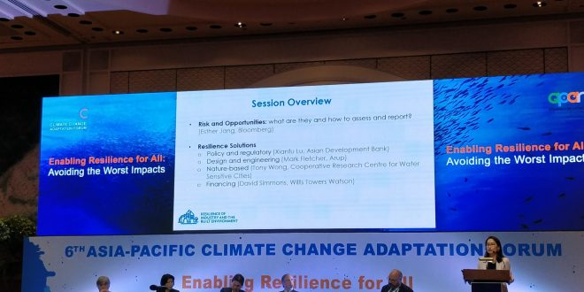 Asia Pacific Climate Change Adaptation Forum emphasizes inclusiveness in climate adaptation