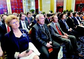 Forum on Global Production Capacity and Business Cooperation opens in China