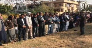 Funeral in absentia held for Pulwama victims in Islamabad