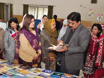 One Day Book Fair Inaugurated At Govt College B Block Rawalpindi Daily Parliament Times