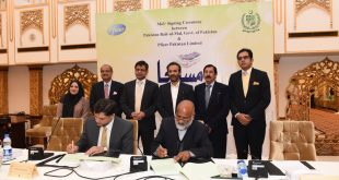 Pfizer Pakistan  sign MoU with Pakistan Bait-ul-Mal, to support patients