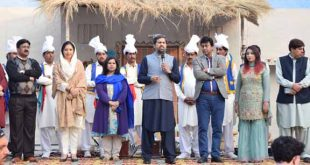 Potohar region artists gave tremendous performance at Open Air Theatre