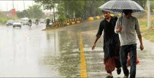 Fresh spell of rain in hilly areas