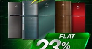 Dawlance offers 23% discount on all refrigerators on Pakistan Day