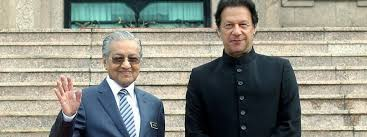 Pakistan, Malaysia to increase trade ties : joint declaration of Mahatir, Imran meeting