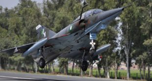 PAF carries out road runway operations