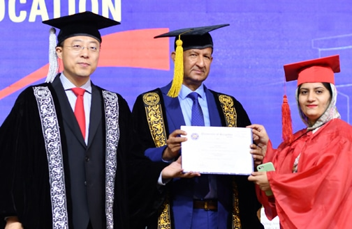 UoS awarded degrees to 78,701 students during its 6th convocation