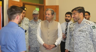 Federal Minister of Education visits Pakistan Navy Cadet College  Ormara and Darmaan Jah