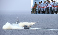 Impressive fire power display by Pakistan Navy in North Arabian  Sea