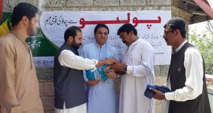 Polio immunization drive kicked-off to vaccinate 68000 children