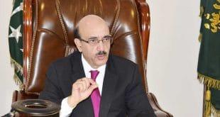 AJK President grieves over death of ambassador Bach