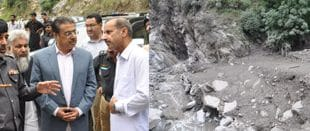 CS Rana rushes to Neelum valley, takes stock of situation in flood-hit areas