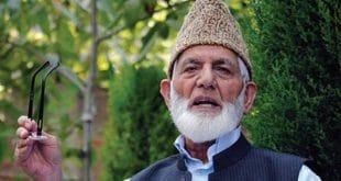 Continue fight till victory, Gilani urges Kashmiri people