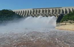 Mangla Dam's water level  reaches close to its climax;