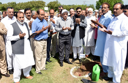 """PARC observed """"Plant for Pakistan Day"""""""