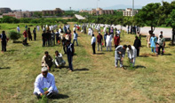 NUST students, employees plant saplings to mark #Plant4Pakistan Day