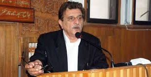 AJK PM calls upon the int'l community, US to use influence on India to resolve the longstanding Kashmir issue with the UN resolutions