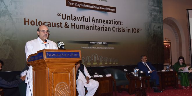 UNSC must avert dangers to peace, security in South Asia: AJK president