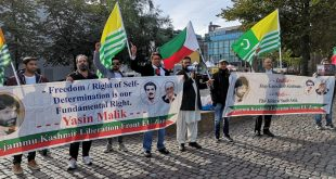 Kashmiris protest as Indian FM visits Finland