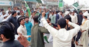 Tribals hold solidarity rally for Kashmiri people in D.I.Khan