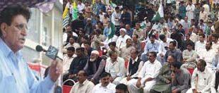 AJK PM hails velour of Kashmiris living along LoC