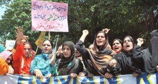Women rally in Muzaffarabd expresses solidarity with oppressed Kashmiri women in IoK