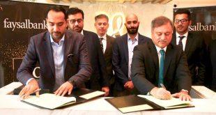 Faysal Bank Limited & Majestic Lounge sign MoU