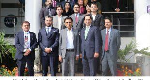 IT Minister visits U Microfinance Bank office