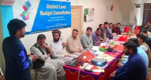 'Study of budget making process at district level in Balochistan' launched