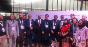 Shafaqat Mahmood Minister For Education Represented Pakistan at Paris Peace Forum