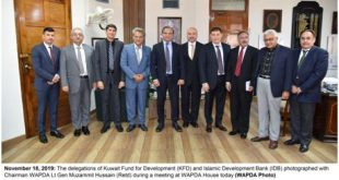Diamer Basha, Mohmand Dams; WAPDA discusses Financing with KFD, IDB