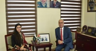 Palestinian will always be indebted to Pakistan support for Palestinian cause: H.E.Ahmed Rabi