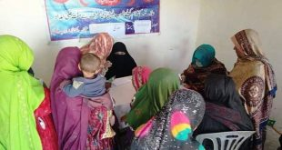 Frontier Corps holds free medical camp in an area sounded by dry mountains