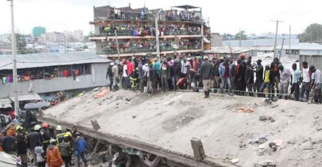 Rescue operation under way in Kenya after building collapse