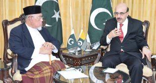 Masood Khan lauds Malaysia's principled stand on Kashmir