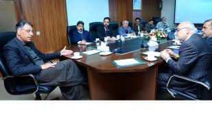RCCI delegation calls on Asad Umar, Minister Planning and Development