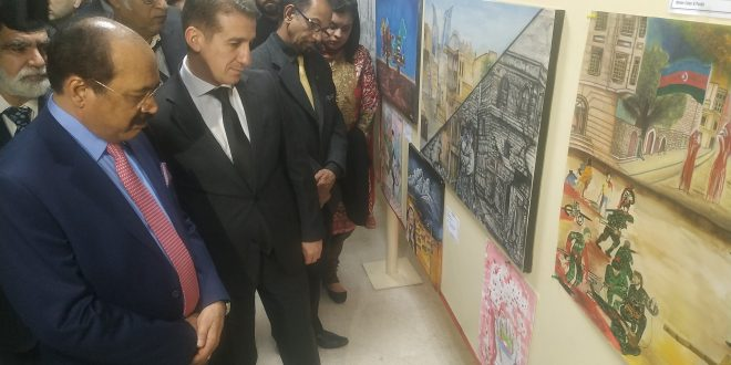 Art competition dedicated to martyrs of 20th January held at Islamabad