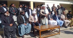 Farewell party held in honour of outgoing SP Zhob Anwer Badini