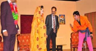 Potohari stage play 'Meki Kharo England' presented at PUCAR