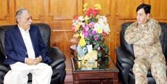 Chairman NDMA calls on AJK Prime Minister Raja Muhammad Farooq