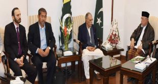Malaysian delegation on visit to AJK calls on PM Raja Farooq Haider Khan