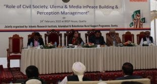 Civil society, ulema, media role in peace building discussed