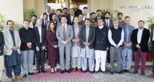 AJK JOURNALISTS VISIT FOREIGN OFFICE;
