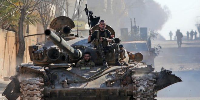 Syria war: 33 Turkish troops killed in air strike in Idlib