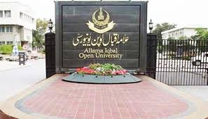 AIOU's Matric/FA admissions to be closed on Tuesday