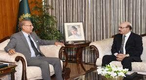 President Alvi calls AJK President on measures against coronavirus, IOJK situation